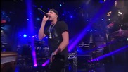 J. Cole - Work Out ( Live on Letterman )