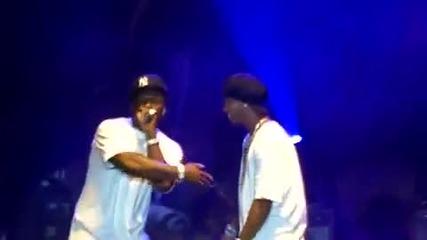 50 Cent и Ronaldinho на сцената - пеят и танцуват
