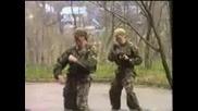 Демонстрация на отряд Сатурн - Подразделение Спецназ(русия)