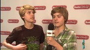 Dylan Cole Sprouse s Funny Interview at Radio Disney