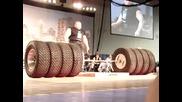Най-силният човек в света - Бенедикт Магнусон 1100 кг тяга световен рекорд