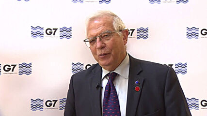 UK: Nuclear deal negotiations with Iran 'difficult but going on' - Borrell at at G7 summit