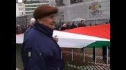 Пенсионери излязоха на протест пред парламента за по-големи пенсии