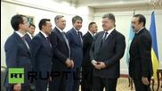 Kazakhstan: Poroshenko meets Kazak PM in Astana