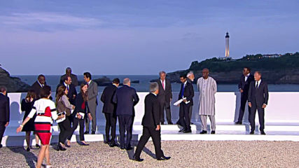 France: G7 leaders and summit guests pose for 'family photo' in Biarritz