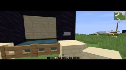 Minecraft - Как да си направите on/off Nether портал