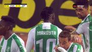 Гаюс Макута бележи трето попадение за Берое
