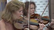 Spain: String quartet gives concert in Barcelona ICU