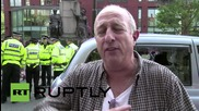UK: Two arrested after far-right protest in Manchester