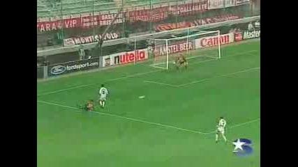 Ac Milan - Galatasaray Goal Umit Davala