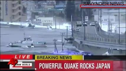 Япония: Преживява Един Много Труден Момент [земетресение, Цунами И Ядрен Взрив]