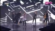 Block B & Bts- Dance+ Tough Cookie+ Rm+ Danger+ Her+ Let's Get It Started-2014mama in Hongkong031214