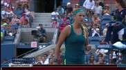 Victoria Azarenka vs Angelique Kerber Us Open 2015 R3