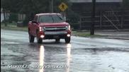 Дъжд и наводнение в Чиликот, Охайо 2.8.2014