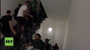 Състезание по стълбите на най-високия небостъргач във Франция