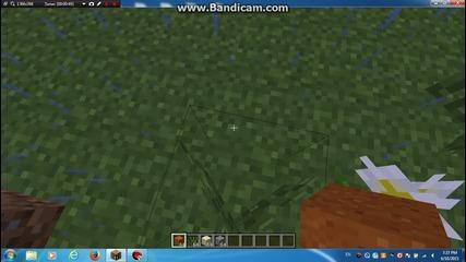 Minecraft kak se pravi pqsuk gravel i cherven pqsuk vuv vuzduha