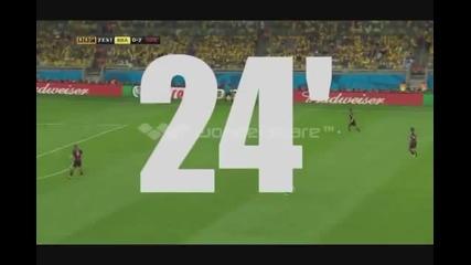 Истинската причина за загубата на Бразилия от Германия на Световното първенство 2014г.
