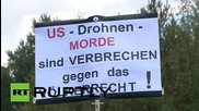 Germany: 'No to NATO, no to drones,' say protesters near US' Ramstein base