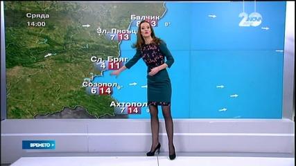Прогноза за времето (24.12.2014 - сутрешна)
