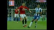 Феноменален гол на роналдо Порто 0 - 1 Ман.юнайтед 15.04
