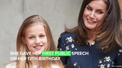 Запознайте се с 15-годишната принцеса, която един ден ще бъде Кралица на Испания