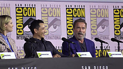 'I need to come back' says 'Terminator' Schwarzenegger at Comic-Con 2019 in San Diego