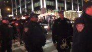 USA: Nine anti-Trump protesters detained in NYC