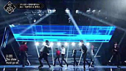 Road to Kingdom s01e06- The Boyz X Oneus - Heroine( Sunmi)3-тo състезание сътрудничество040620-3