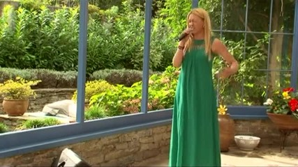Невена в къщата на съдиите - X Factor (14.10.2014)