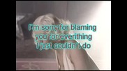 Christina Aguilera - Hurt + Text