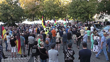 Germany: Far-right supporters mark one year since Chemnitz stabbing