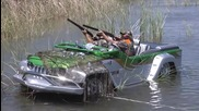 Amazing Watercar Panther Jeep Boat _ Automototv