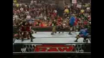 Raw vs Smackdown vs Ecw Battle Royal 1 Of 2 6/23/08