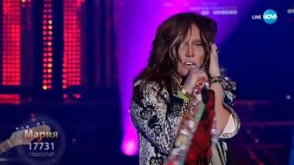 "Мария Илиева като ""Aerosmith - Cryin'"" | Като две капки вода"