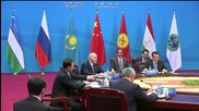 China: Medvedev attends SCO council hosted by Chinese Premier Li Keqiang