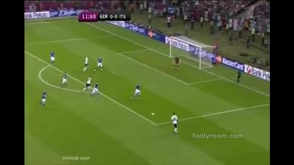 Италия победи Германия с 2-1 и отиват на финала срещу Испания !!! Euro 2012