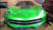 2015 Chevrolet Corvette Prototype from Transformers 4 Movie-exterior Walkaround-2014 Ny Auto Show