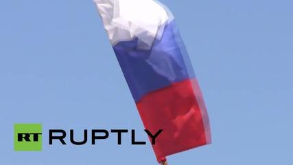 Първите попълнения в руската армия от Крим и Севастопол