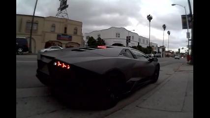 Lamborghini Reventon taking off