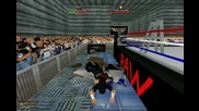 Jeff Hardy super swantos in wrestling encore