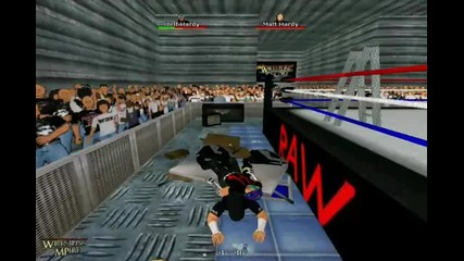 Jeff Hardy super swantos in wrestling encore