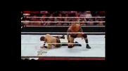 Wwe Raw 05.12.11 Randy orton vs The miz (miz winner contender for wwe champioship)