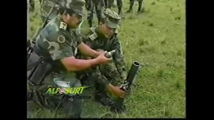 Епичен провал на колумбииската армия *бягаййй* *смях*