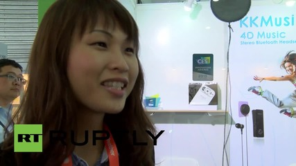 China: Hobot, the window cleaning Robot, wows the crowd at CES Asia