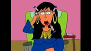 On the phone with the Rhonj