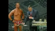 Raw 09 - 06 - 2008 Charlie Haas Kiss Maria