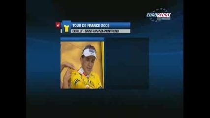 Шумахер Печели 20тия Етап , Састре запазва жълтата фланелка