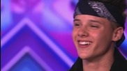 The Brooks sing Us against the World by Westlife - The X Factor Uk 2014