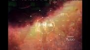 Иан Сомърхолдър, Нина Добрев, Селена Гомез и Джъстин Бийбър на една сцена на наградите Mmva !
