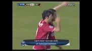 17.03.10 Бордо - Олимпиакос 2:1 Marouane Chamakh гол